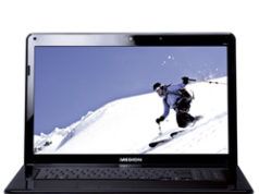 Netbook van de ALDI op 30 januari 2010