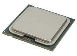 Voorbeeld van een processor uit een deskstop computer