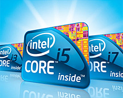 Intel Core i3 i5 i7 familie