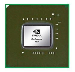 Nvidia 820M Serie Chip
