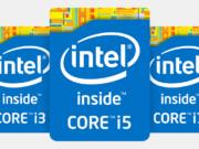 Logo Intel Core 5de generatie Broadwell