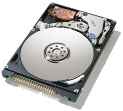 HDD van een laptop