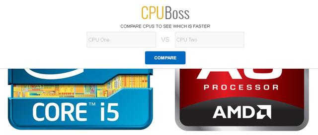 Zoeken in CPUBoss