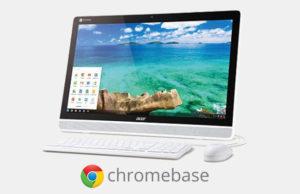 Chromebase computer