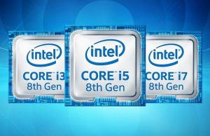 Intel Core i3 i5 i7 Generatie 8 Coffee Lake