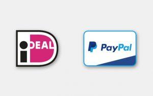 Betalen: Paypa en IDEAL