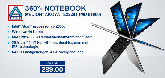 Medion Akoya E2228T (MD61900)