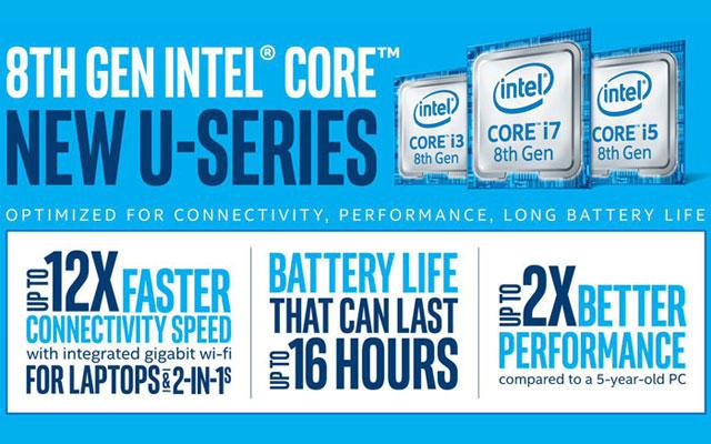 Intel Whiskey Lake Laptop Processor