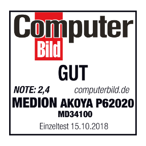 ComputerBild Medion Akoya P62020 (MD34100)