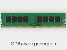 DDR4 werkgeheugen
